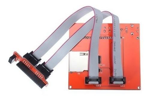 display gráfico lcd 128x64 para impressora 3d ramps reprap