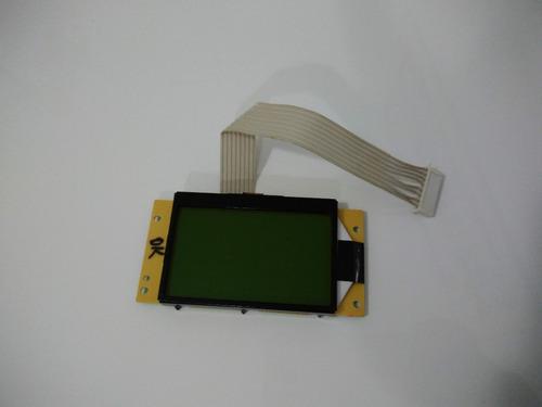 display gráfico serial arduino lcd 128x64 c/ backlight azul