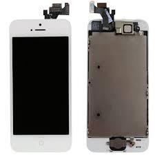 display iphone 5s negro y blanco, instalado