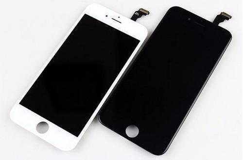 display iphone 6 plus negro y blanco, instalado