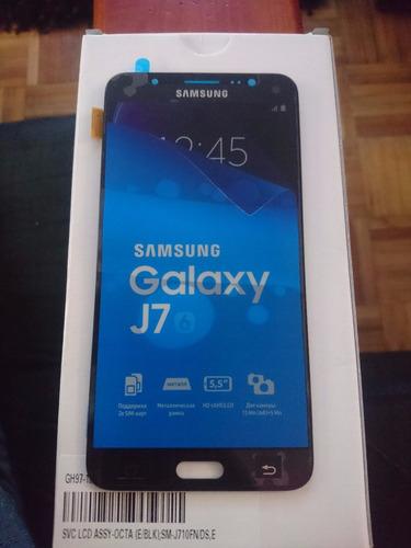 display lc samsung j710 2016 - j7 - j7 prime original