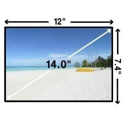 display lcd 14.0 led c/inv 40p acer aspire 4810tz vaio pcg