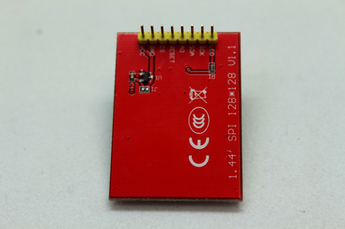 display lcd 1.44 pulg st7735, arduino, avr, pic