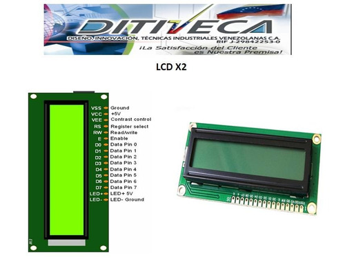 display lcd 16*2