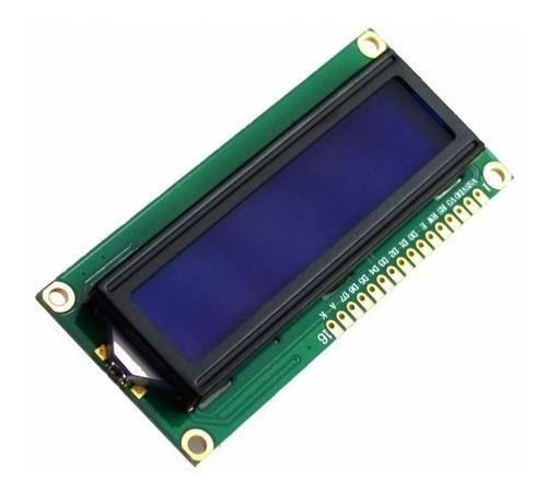 display lcd 16x2 fundo azul arduino backlight azul 1602