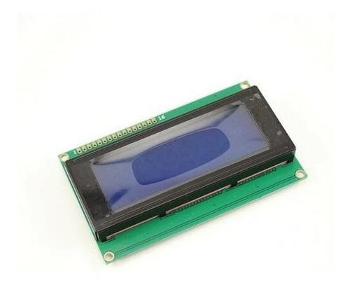 display lcd 2004 backlight azul 20x4 hd44780 5v - 3.3v