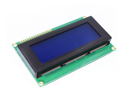 display lcd 20x4 2004 backlight azul
