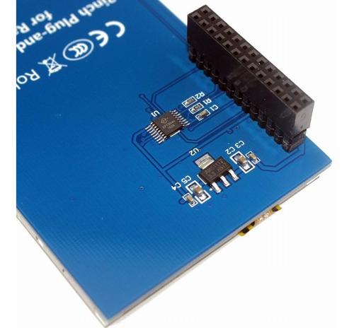 display lcd 3.2 touch para raspberry pi3 pi 3 tft 320x240 nf