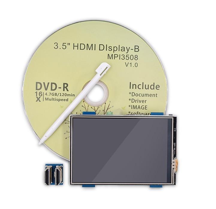 Display Lcd 3 5 Hdmi Usb Hd 1920x1080 Mpi3508 Raspberry 3