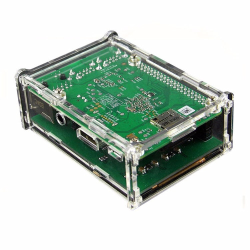display lcd 3.5 touch tela raspberry pi3b e b+ + case
