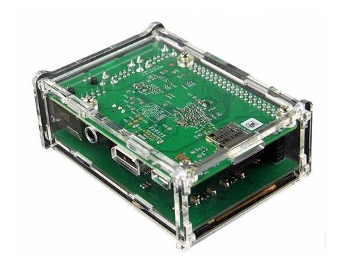 display lcd 3.5 touch tela raspberry pi3b e b+ + case