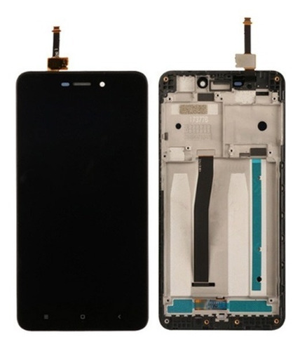display lcd+ aro xiaomi redmi 4a frontal visor tela modulo
