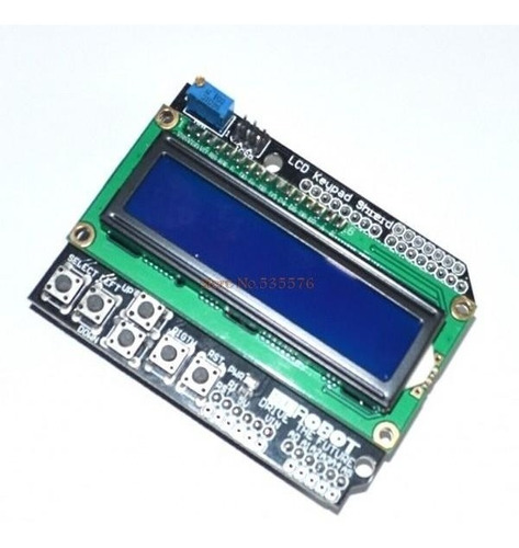 display lcd keypad 1602 arduino teclado  pronta entrega!!