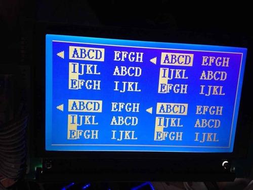 display lcd lmg7420plfc-x 240 x 128 pixeis 5,7 polegadas