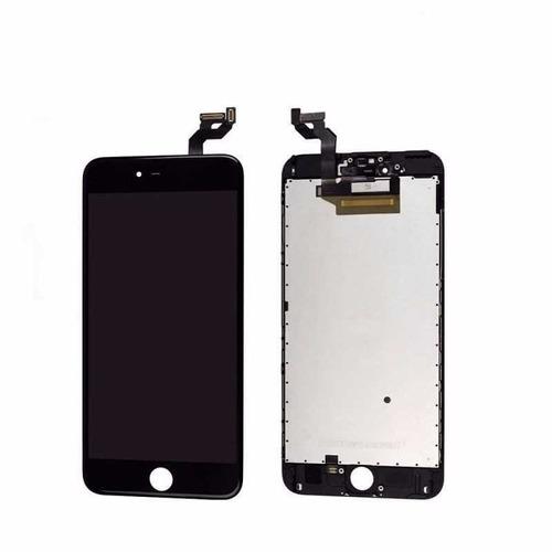display lcd pantalla iphone 6s plus blanco y negro