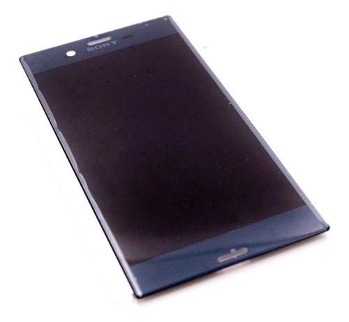 display lcd sony xperia xz f8332 f8331 frontal tela azul
