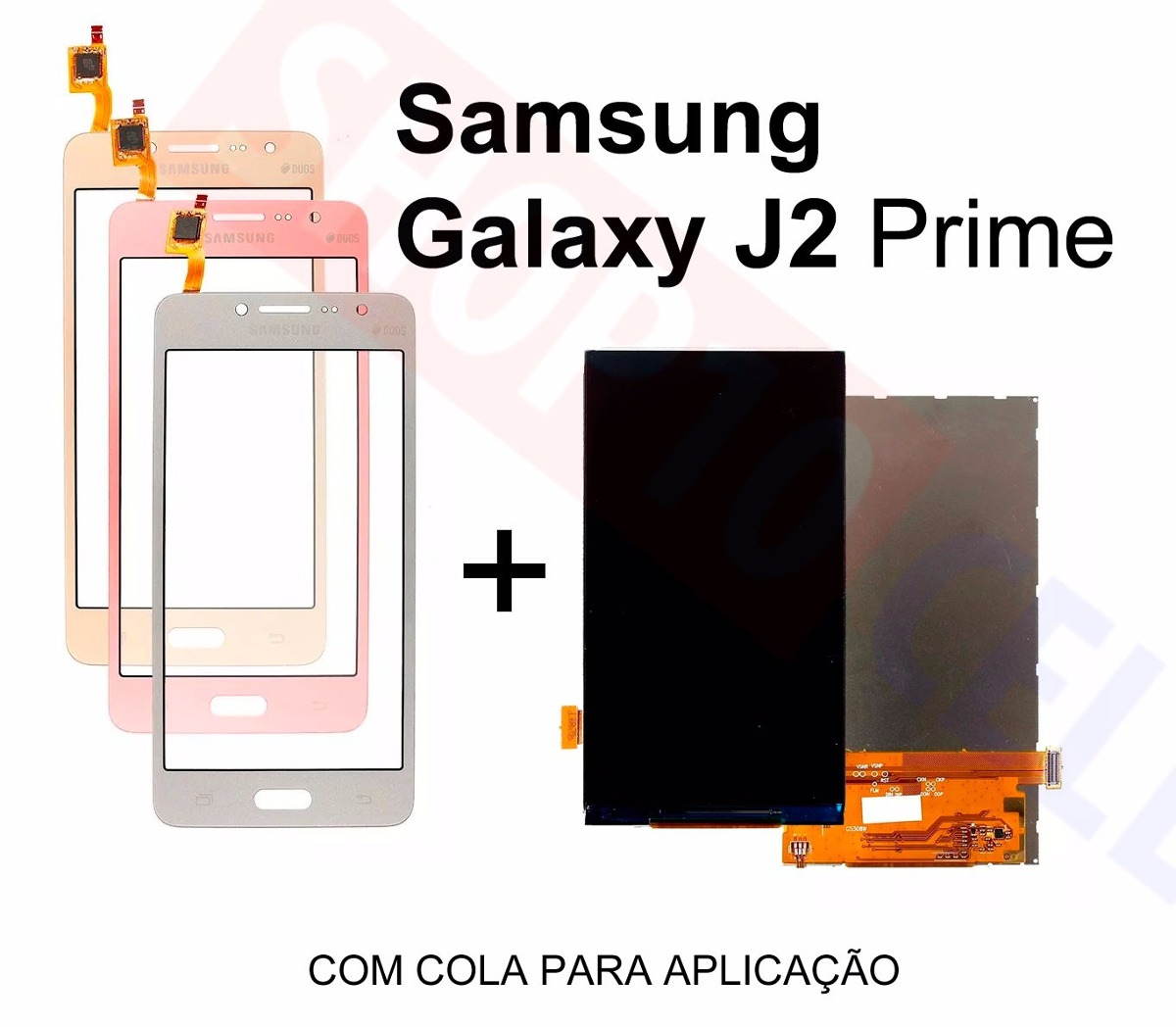 g532_Display Lcd + Tela Touch Galaxy J2 Prime Tv Duos G532gt G532 - R$ 60,99 em Mercado Livre