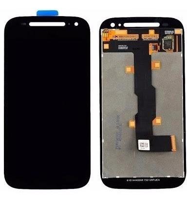 display lcd tela touch moto e2 geração 2 xt1523 xt1514 preto