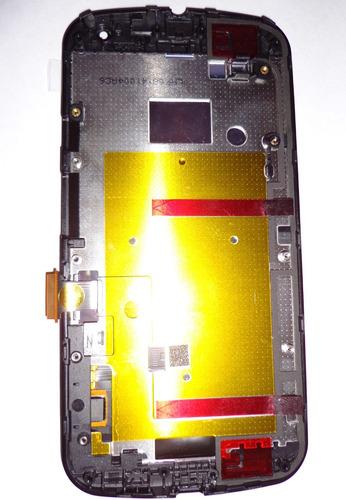 display lcd touch moto g 2da seg generación chasis100% origi