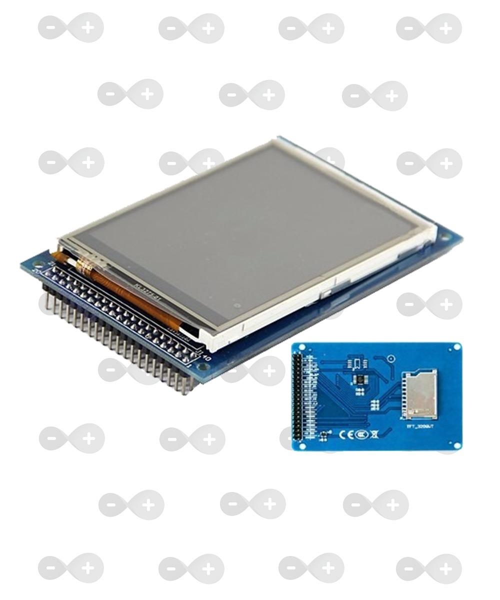 Display Lcd Touch Screen Colorida 3 2 Pol  Arduino Ili9341