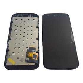 Display Lcd Touch Tela C/ Aro Moto G1 Garantia Melhor Preço!