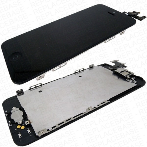 display lcd y touchscreen para iphone 5 + kit + mica