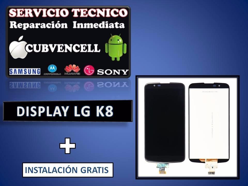 Display Lg K8 Original Con Marco + Instalacion - U$S 74,99 en ...