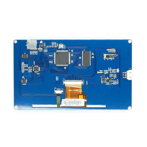display nextion ihm led touch 7.0 arduino pic clp