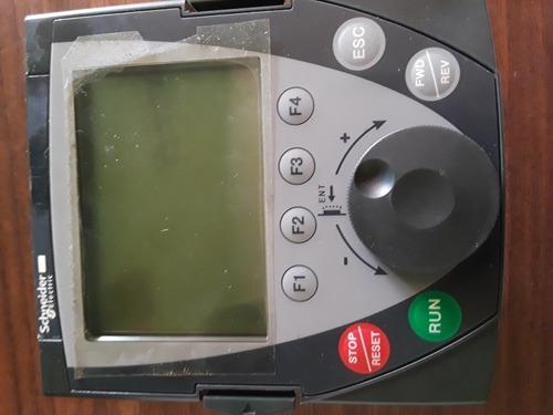 display o panel de control altivar