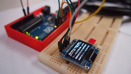 display oled 128x64 0,96 i2c 4 pinos branco - esp, arduino