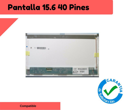 display pantalla 15.6 led toshiba satellite c655 c650
