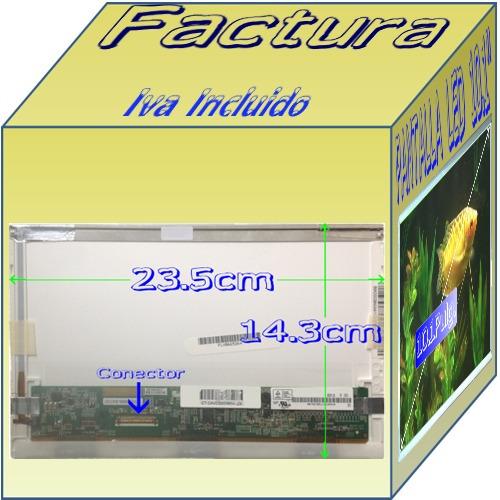 display pantalla compaq mini cq10 600 700 800 led 10.1 vmj