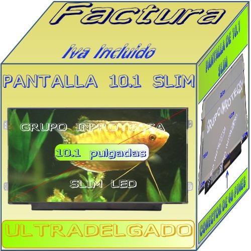 display pantalla compatible con ltn101nt08-806 slim 10.1 ied