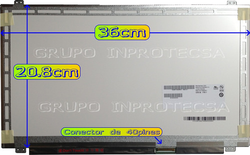 display pantalla led acer aspire 5745-5946 5745 slim daa