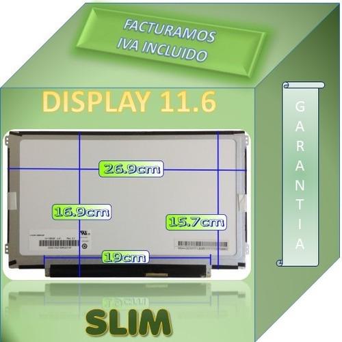 display pantalla led slim 11.6 compatible dell inspiron 11z
