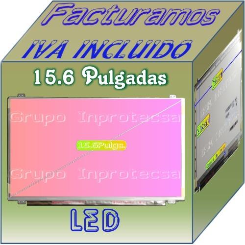 display pantalla led slim compatible con lp156wh3 (tl)(aa)