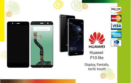 display, pantalla, tactil, touch huawei p10 lite