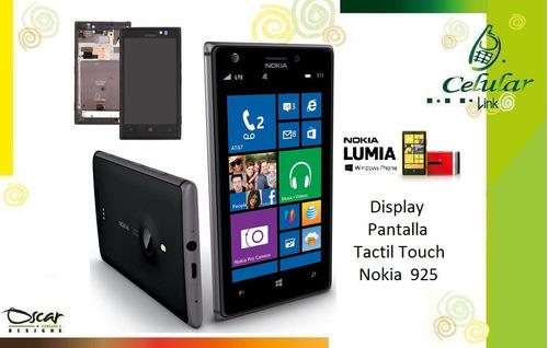display, pantalla, tactil, touch iphone nokia lumia 925