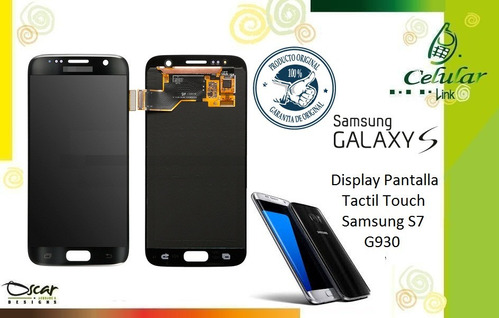 display, pantalla, tactil, touch, samsung s7 g930