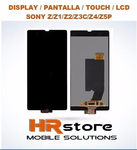 display / pantalla / touch / lcd sonyz/z1/z2/z3c/z4/z5p leer