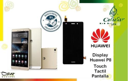 display, pantalla, touch, tactil, huawei p8