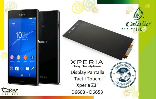 display pantalla, touch, táctil, xperia z3, z5, ultra, xa, x