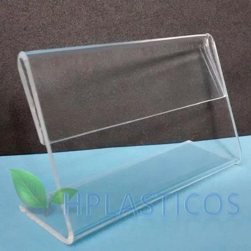 display porta preço acrílico n3 kit 10