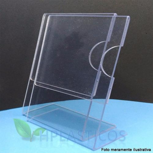 display porta retrato simil acrilico a6 kit 20