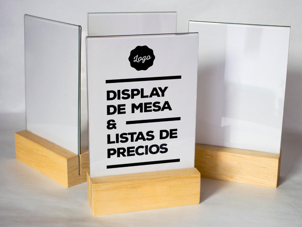 display table tent 14x21 5 cm 448 00 en mercado libre