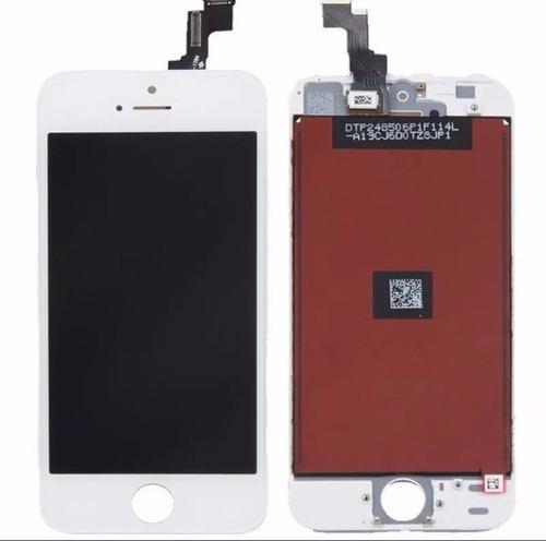 display + tactil para iphone 5s pantalla negra o blanca
