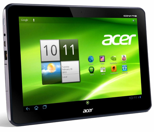 display + táctil tablet acer a200 original