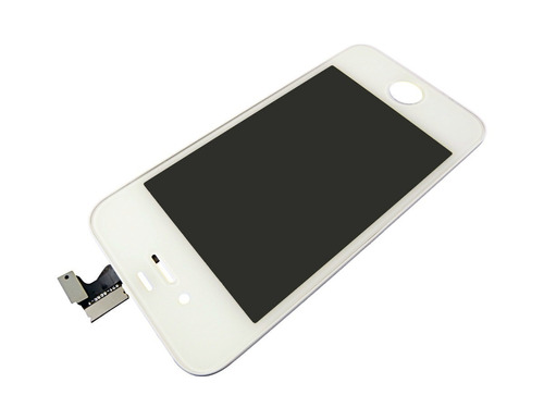 display/ tela/ frontal completo iphone 4 /original - branco
