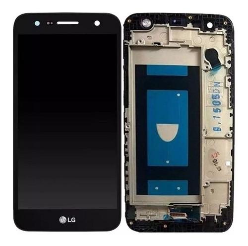 display tela touch frontal lcd lg k10 power m320 - preto
