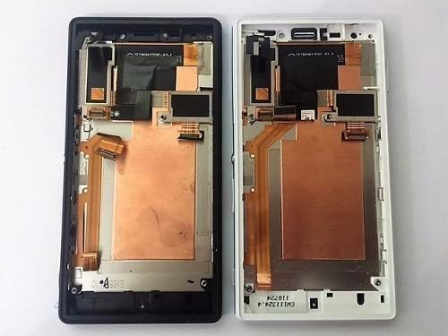 display + touch + aro + flex power chip sony xperia m2 aqua
